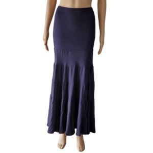 INC International Concept Blue Maxi Skirt